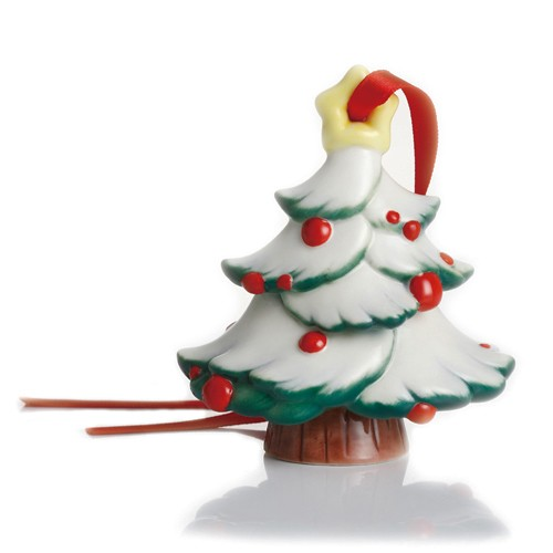 Franz Porcelain - Figurine - Holiday Greetings - Christmas Tree