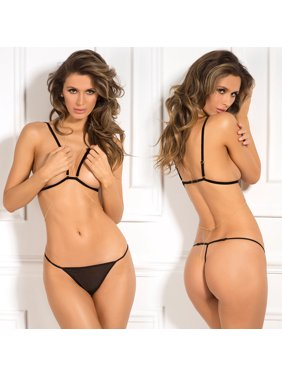 72e250adbac Product Image Rene Rofe 3 Piece After Midnight Chain Reaction Bra Set - One  Size