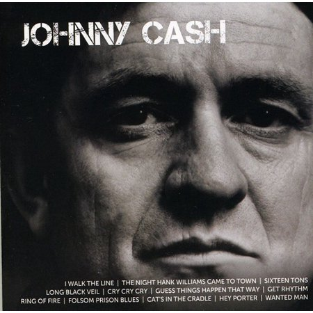 Johnny Cash   Icon Series  Johnny Cash  Cd