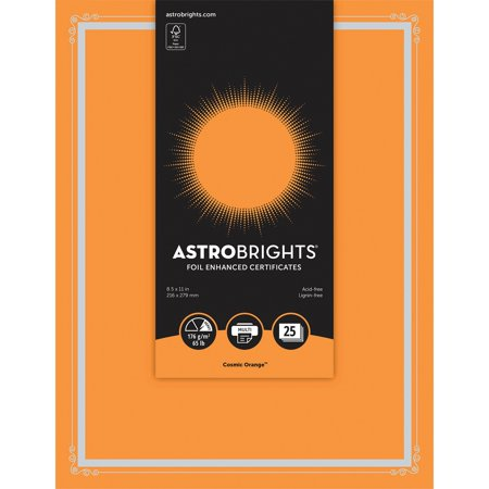 Astrobrights Certificate Paper (nee-91099) - Walmart.com