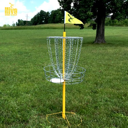 Hive Disc Golf Hive Baskets Double Chains (Yellow / Stock)