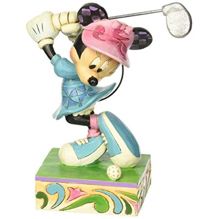 Jim Shore Donald Duck - Enesco Disney Traditions by Jim Shore Minnie Mouse Golfing Figurine, 6 IN