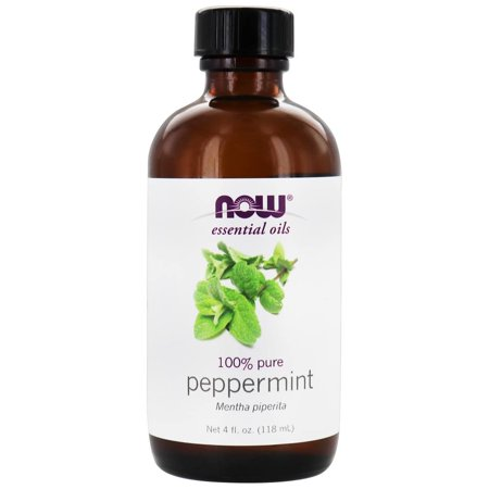 Now, 100% Pure Peppermint Essential Oil, Aromatherapy, 4oz
