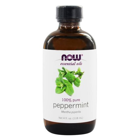 - NOW Foods - Peppermint Oil - 4 oz.