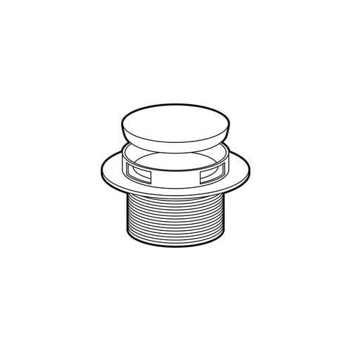 101652 Tub drain assembly Chrome