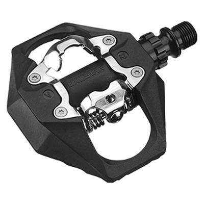Exustar Pm816 Spd Al 1-Side Platform Clipless Pedal Black
