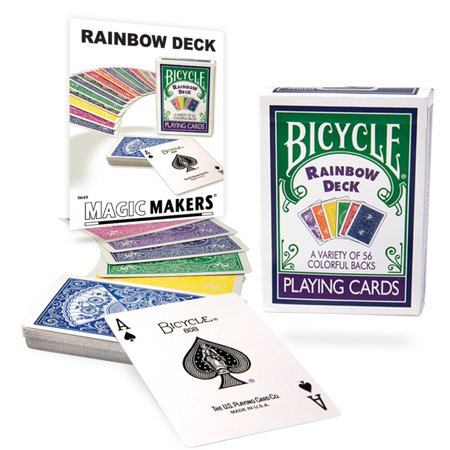 Magic Makers Rainbow Deck with Bonus Tricks