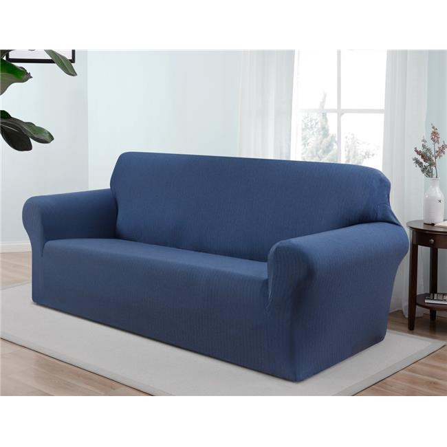 Madison SANTA-SO-BL Kathy Ireland Santa Barbara Sofa Slipcover, Blue