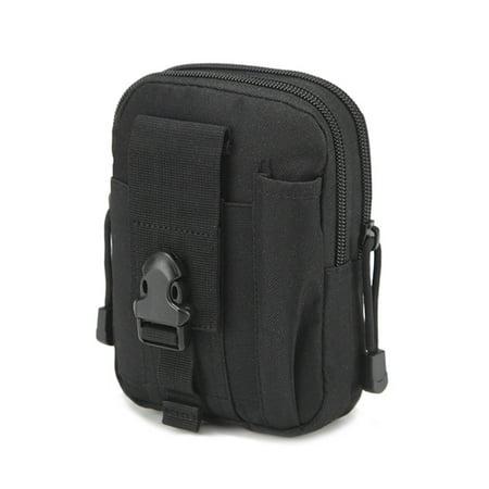 Waterproof Belt Waist Bag Pouch Zipper Phone Pocket Molle System Attachment Bag Attachment Set