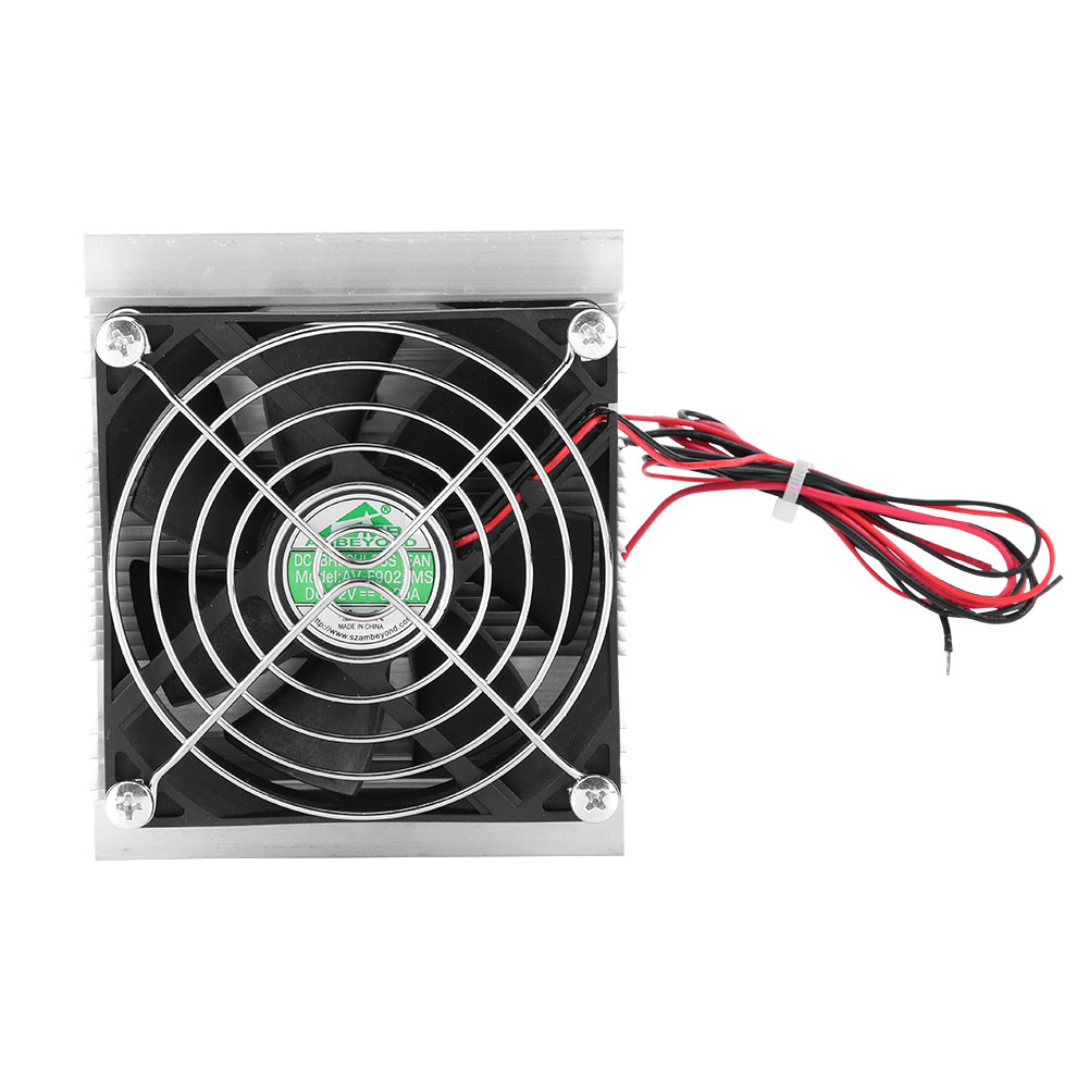 Herchr 12v Pc Cpu Low Noise Case Fan Thermoelectric