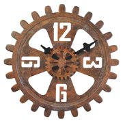 Bulova Motion Gear 18 in. Wall Clock