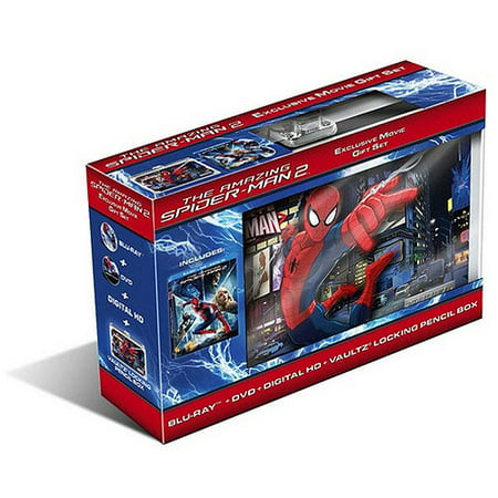 The Amazing Spider-Man 2 (Blu-ray + DVD + Digital HD ... - photo#15