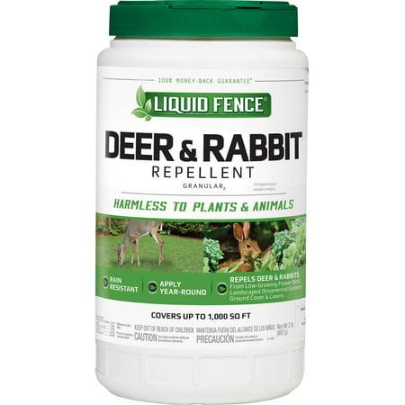 - Liquid Fence Deer & Rabbit Repellent Granular, 2-lb