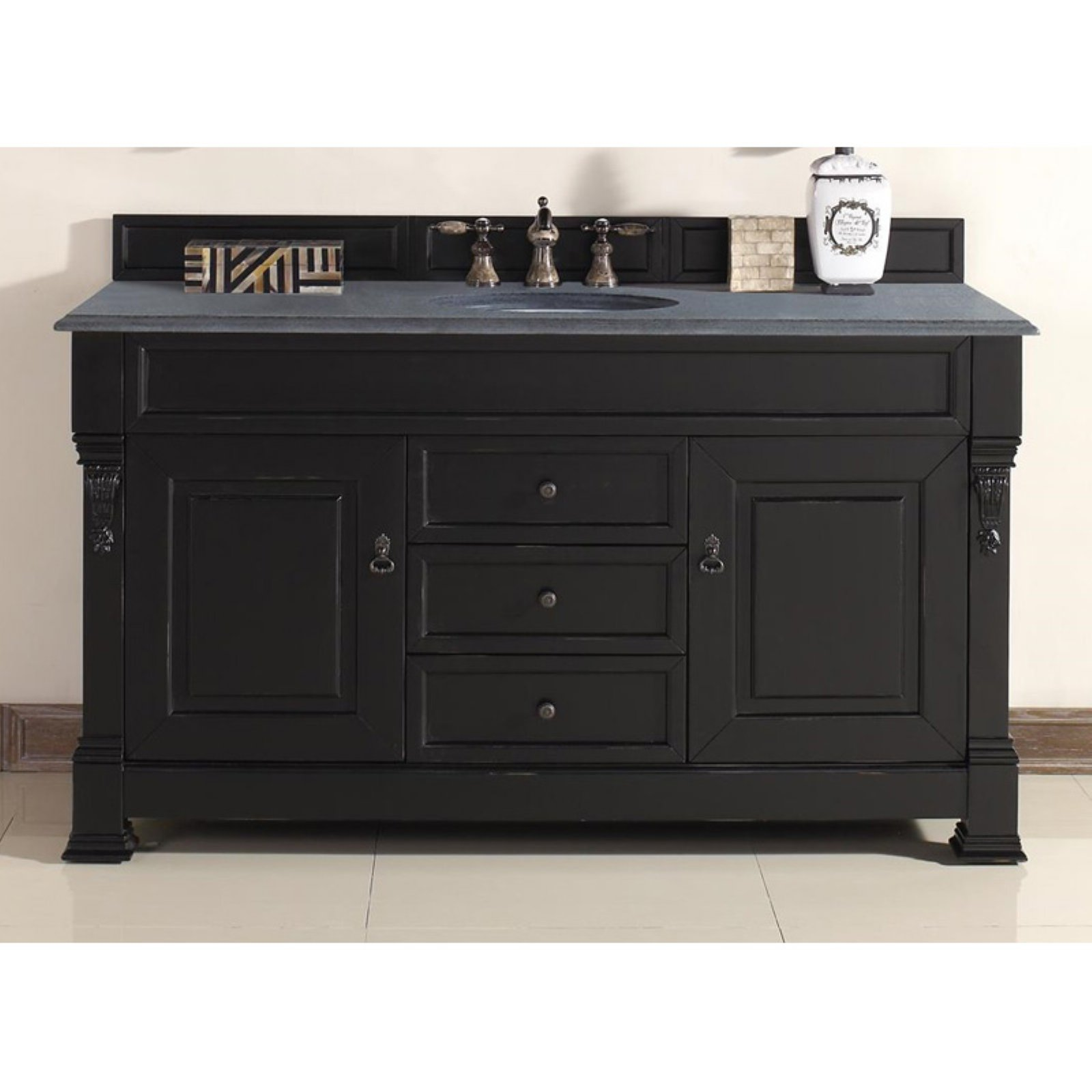 James Martin Brookfield 60 in. Single Bathroom Vanity