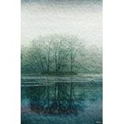 Parvez Taj Apple Lake Canvas Wall Art