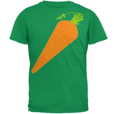 Halloween Vegetable Carrot Costume Mens T Shirt - Carrot Costume