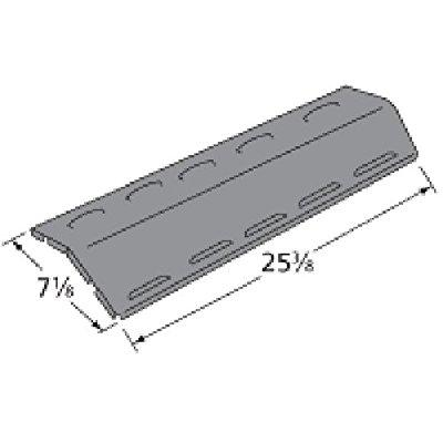 Music City Metals 96121 Porcelain Steel Heat Plate Replacement for Gas Grill Models Aussie 6623S8E641 and Aussie 6623S8Y641