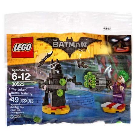 Batman Joker Movie (DC The Batman Movie The Joker Battle Training Set LEGO 30523)