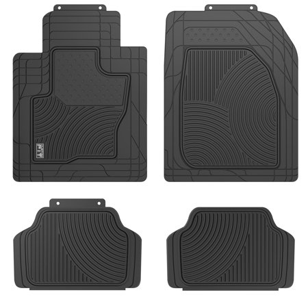 Suv Floor Mats >> Custom Fit Heavy Duty 4 Piece All Weather Suv Crossover Car Floor