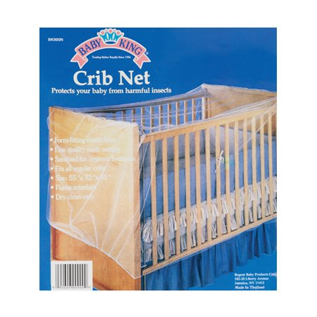 Baby King Crib Net