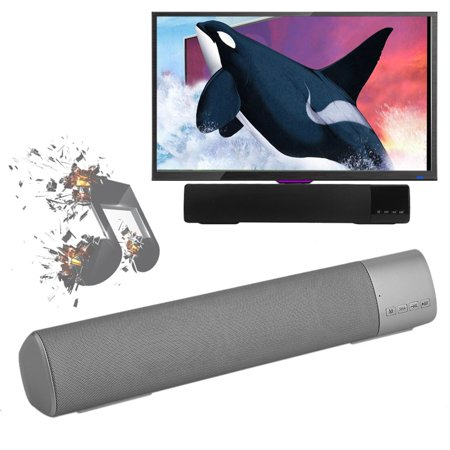 Professional Wireless Soundbar Hands Free Bluetooth Stereo Music Sound Bar Speaker System Support TF Card For TV Home