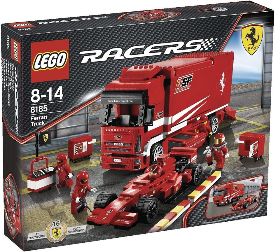 Lego Racers Ferrari Truck Set #8185