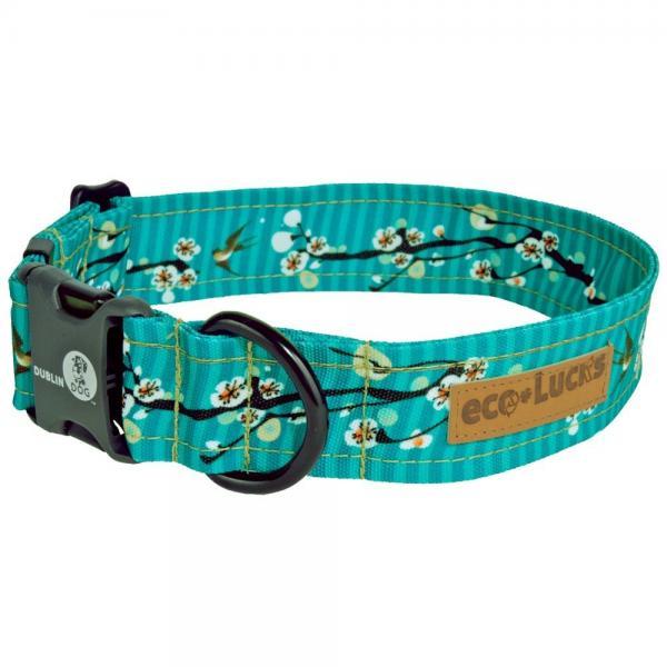 eco-lucks dog collar, hong kong sea, large 15 x 24