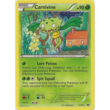 Pokemon Dark Explorers Carnivine #5