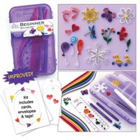 Quilled Creations Beginner Paper Quilling Kit with Case