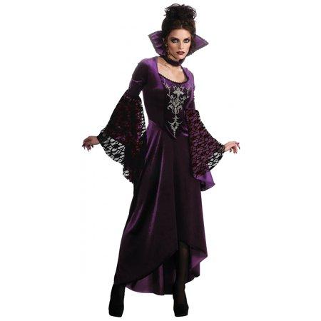 Violet Vamp Child Halloween - Madame Vamp Costume
