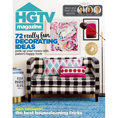 Hgtv Magazine Subscription  1 Year