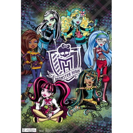 Monster High Group Poster - 13x19 - Monster High Posters