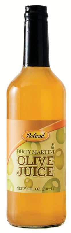 Roland Dirty Martini Olive Juice, 25.4 Oz by Roland Corporation