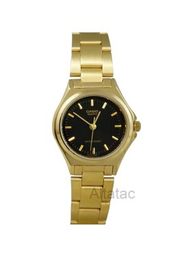 6b73f0cd892e Product Image Casio LTP-1130N-1A Women s Gold Stainless Steel Analog Dress  Watch w  Black