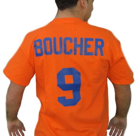 Bobby Orr Signed Jersey - Bobby Boucher #9 Mud Dogs Jersey T-Shirt