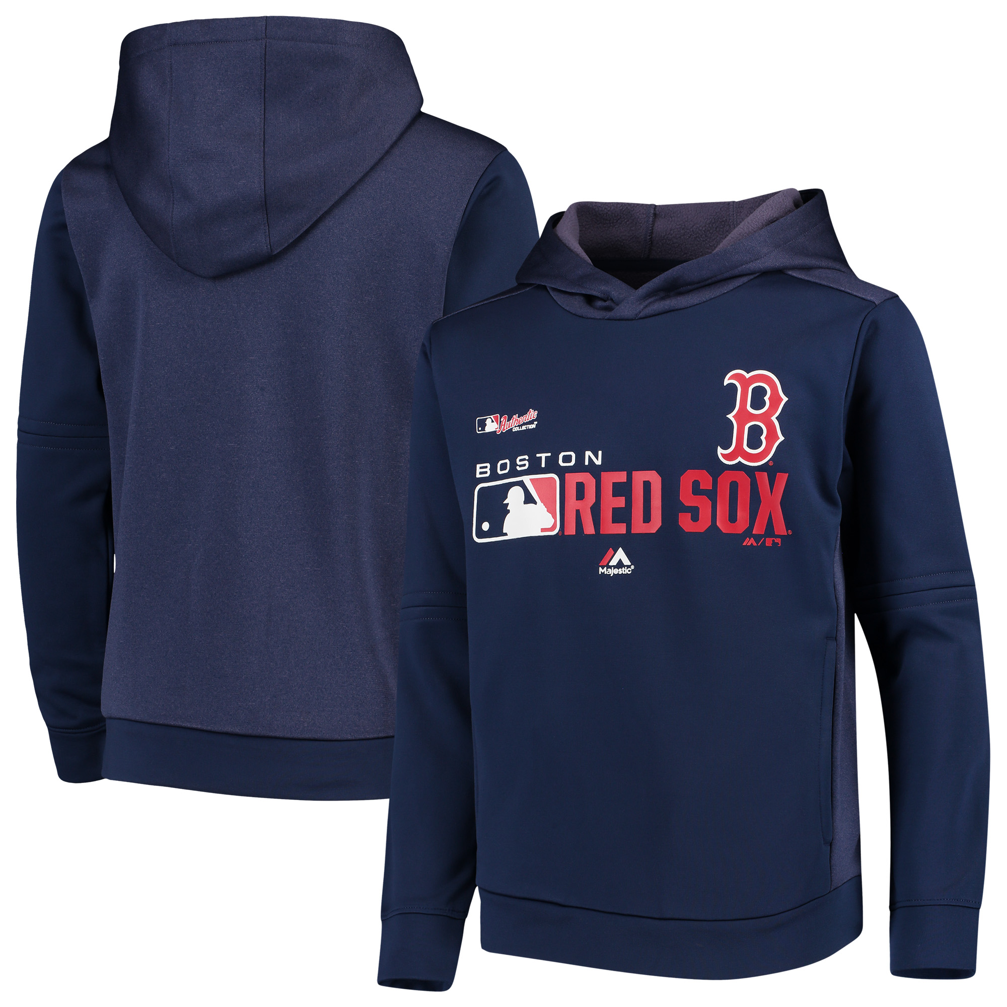 Boston Red Sox Youth Winning Streak Pullover Hoodie - Navy