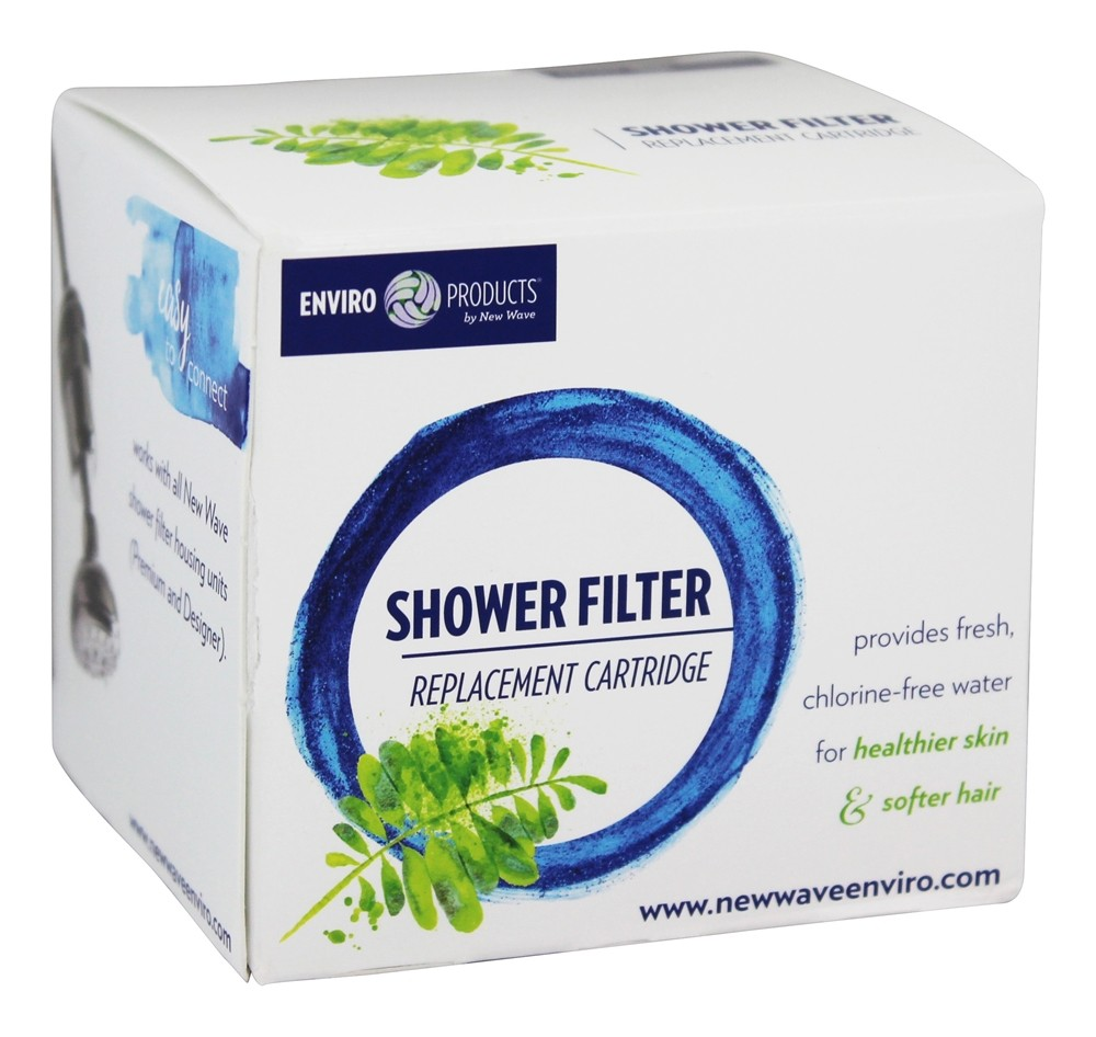 New Wave Enviro Products - Shower Filter Replacement Cartridge - 1 Filter(s)