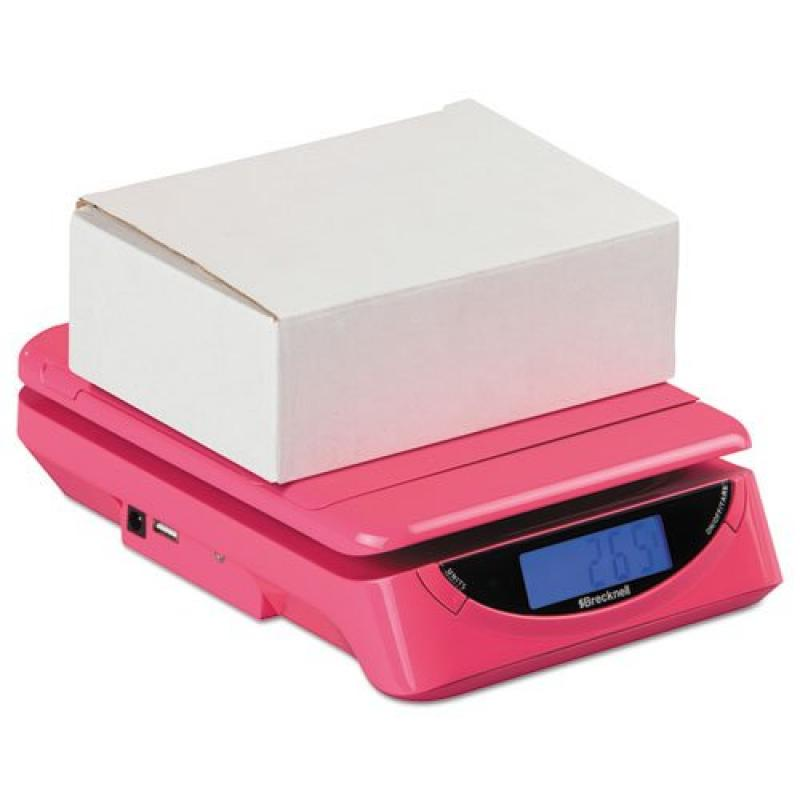 PS25PINK 25 lbs. Electronic Postal Shipping Scale, Pink