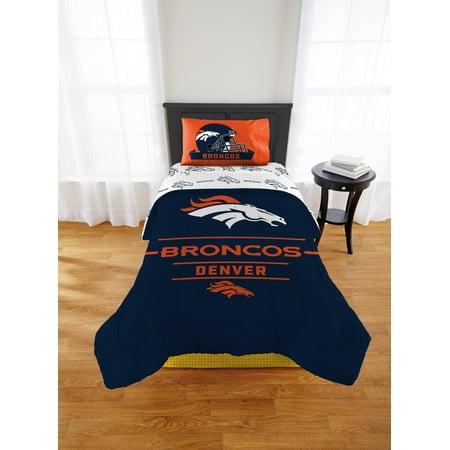 NFL Denver Broncos Monument Twin or Xl Comforter Set