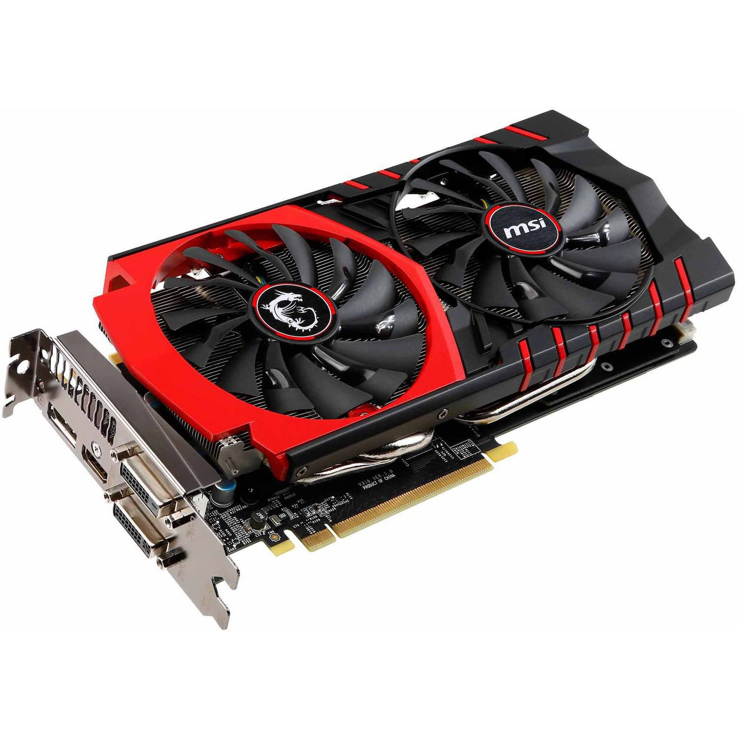 MSI USA GTX 980 GAMING 4G MSI GTX 980 GAMING 4G GeForce GTX 980 Graphic Card - 1.22 GHz Core - 4 GB GDDR5 - PCI Express 3.0 x16 - Dual Slot Space Required - 7010 MHz Memory Clock -