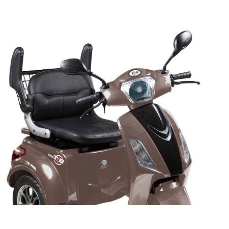 T4B LU-500W Mobility Electric Recreational Outdoors Scooter 48V20AH with Three Speeds, 14/22/32kmph - Brown - image 8 de 14