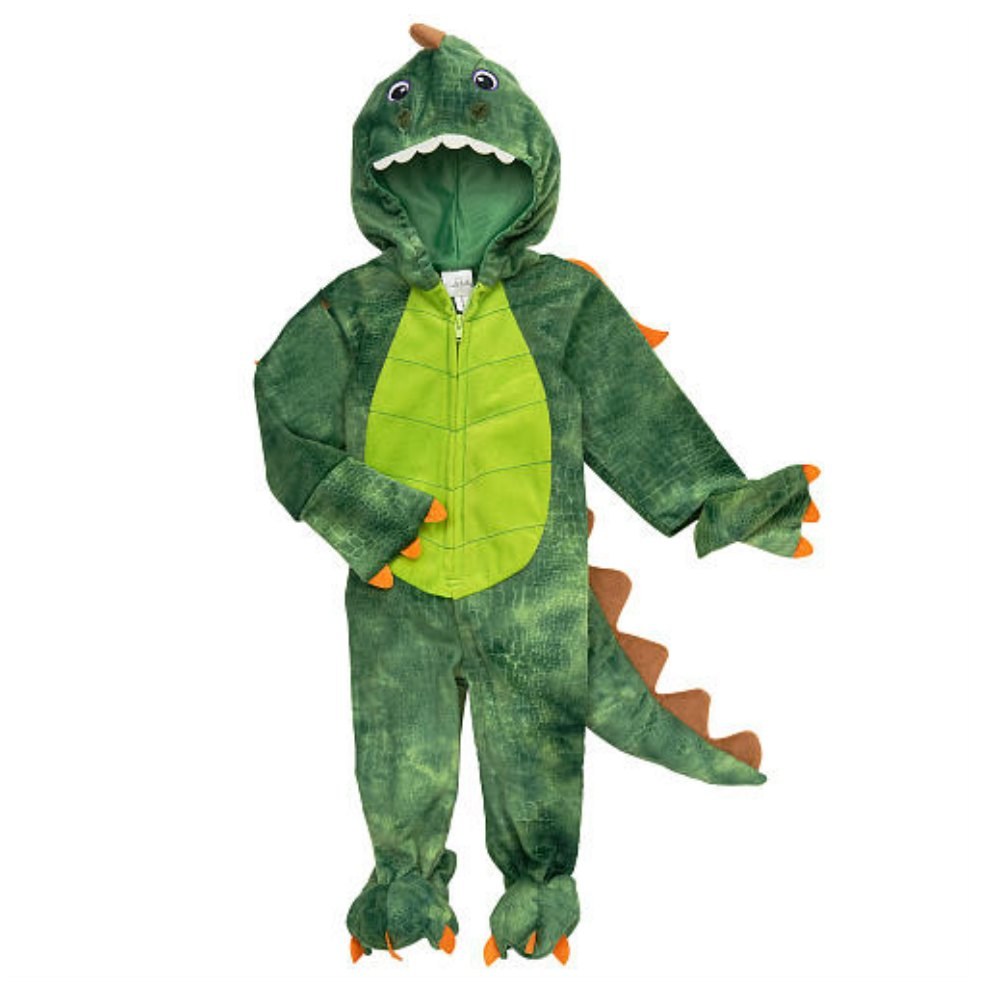 Koala Kids Infant Boys Plush Green Dragon Costume Dinosaur Jumper 9m