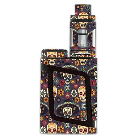 Skin Decal For Smok Al85 Alien Baby Kit Vape / Sugar Skulls Sombrero Day Of The Dead (Toddler Sombrero)