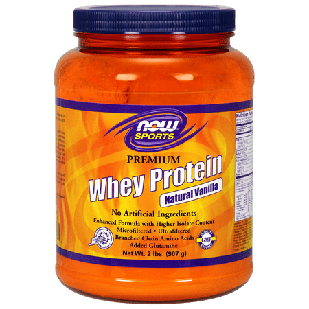 NOW Whey Protein Isolate Pure, 5 Lb