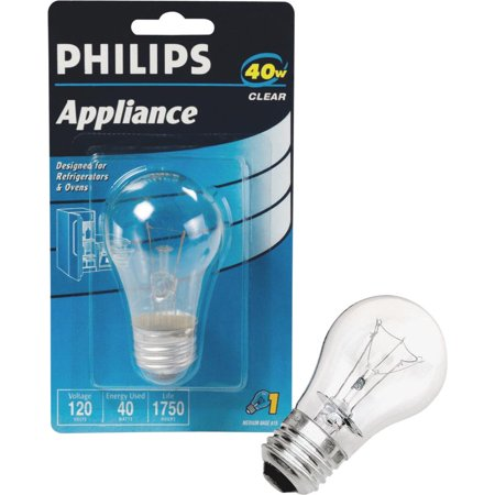 Philips Lighting Co 40w A15 Clear Applnc Bulb 299990