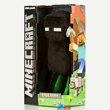 "Minecraft Enderman 17"" Plush Toy Figure"