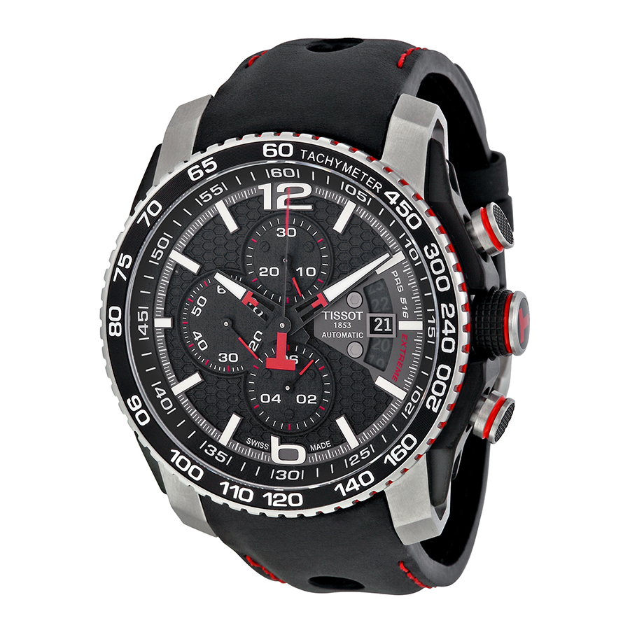 Tissot PRS 516 Extreme Automatic Chronograph Mens Watch T...