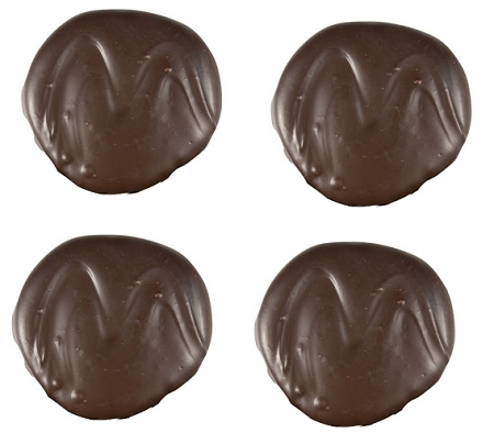 Asher's 2 Ounce Dark Chocolate Covered Mint Patties, (Pac...