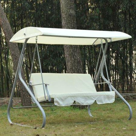 Freeport Park Sidney 3 Person Porch Swing