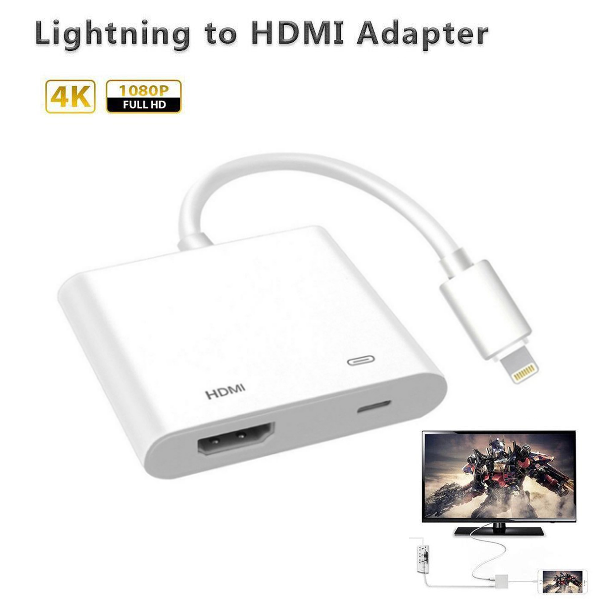 Le Lightning Digital Av Adapter Hdmi